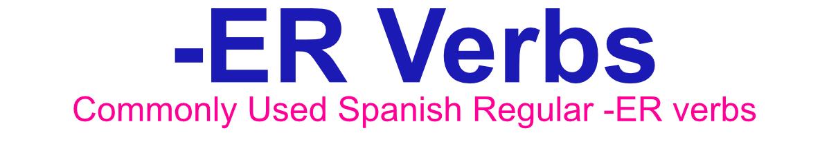 ER verbs