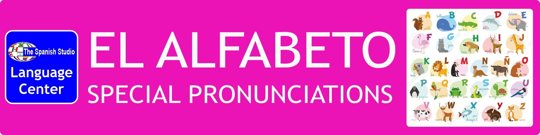 Podcast Alphabet Special Pronunciations